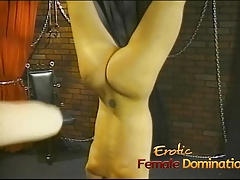 Bossy  gives her dearest slave an