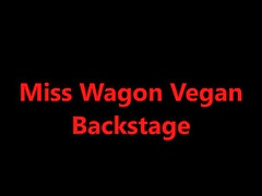 Suor Miss Wagon Vegan Backstage