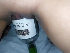 MissXXXandPAIN -  a wine bottle