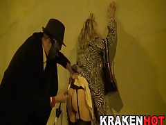 Enslaved Mature wife in the..