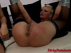Bigass eurobabe predominated and..
