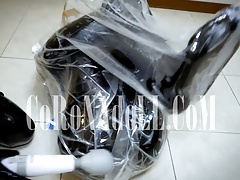 Vacuum Bag  Breath Paly rubber..