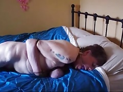 Granny servant naked, roped and..