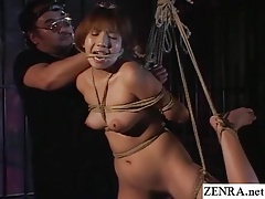 Traditional JAV shibari cord..