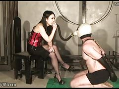 Dominant Mistress Saran Smoking..