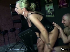 German  Female dom Guy and Tempt..