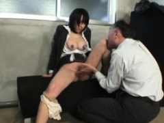 bdsm of chesty chinese slavegirl..