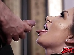 Duteous cum eater riding jibe BJ