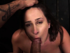 Chubby anal slave added to pretty..