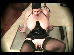 Latex-Fetish-BBW with Large Funbags