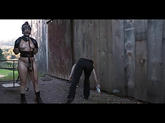 Ponyslave Freak BDSM Outdoor..
