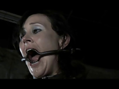 BDSM Gimp Poppy James - Gag Whip..