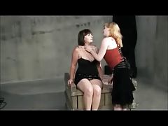 Chubby Lesbo domination