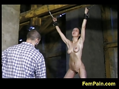 Angie gets toughly whipped