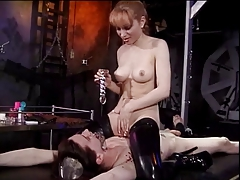 Mistress fools around with her..