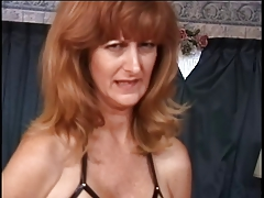 Mature w giant breasts has her..