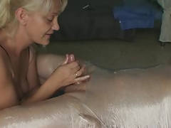 corded post orgasm Hand job funny..