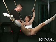 Hard-core Mind-blowing slave does..