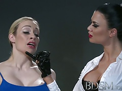 BDSM  Kinky marionette with..