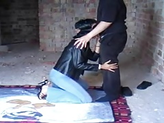 a sub wifey tormented in front of..