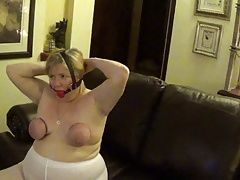 dayton stockings slut on dispay