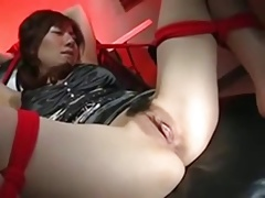 Uber-sexy Asian Office