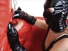 Compilation of Gals in Leather..