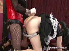 Sissy maid for Domme Maya Sinstress