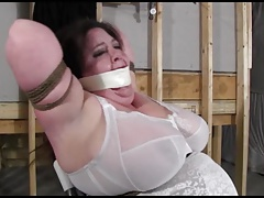 Fun  and ball-gagged all evening