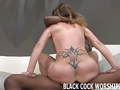 Massive dark-hued fuck-sticks get..