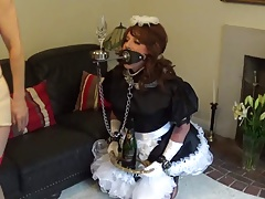 Madame Cs stringent  sissy maid..