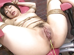 Girl's cock-squeezing puss..