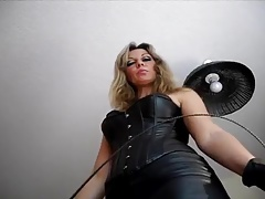 German  Female dom humilate you